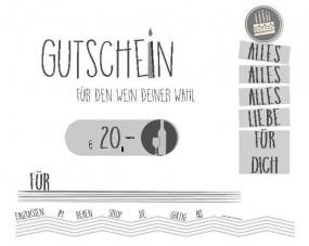 Happy Day Geschenk-Gutschein
