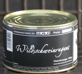 Wildschweinragout